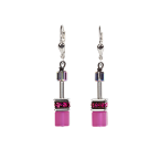 Pink GeoCUBE Earrings