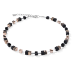 GeoCube Onyx Necklace