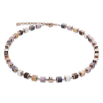 Beige GeoCUBE Necklace