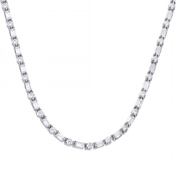 Tennis Style Necklace