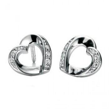 Fiorelli Open Heart Earrings
