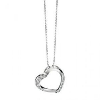 Fiorelli Open Heart Pendant