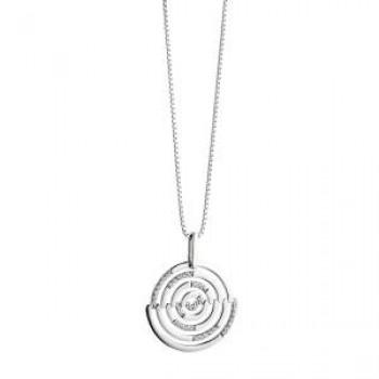Fiorelli Concentric Circles Pendant