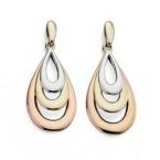 Gold Multi Coloured Earrings