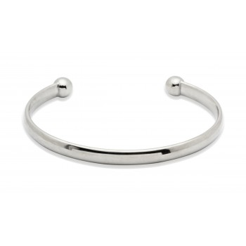Titanium torque bangle