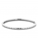 Cubic Zirconia Dot Bangle