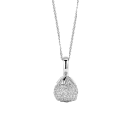 Tear Drop Cubic Zirconia Pendant