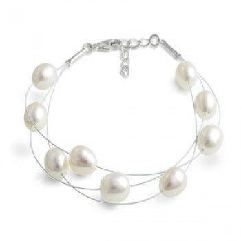 Fresh Water Pearl Dew Drop Bracelet